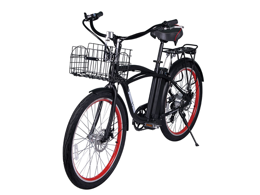 x-treme newport beach cruiser bicycle black