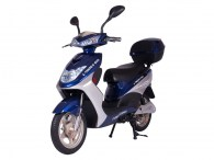 x-treme e-bike xb-504 moped bicycle blue